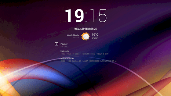 chronus widget download