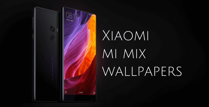 Xiaomi Mix Wallpaper: Download Xiaomi Mi MIX Stock Wallpapers