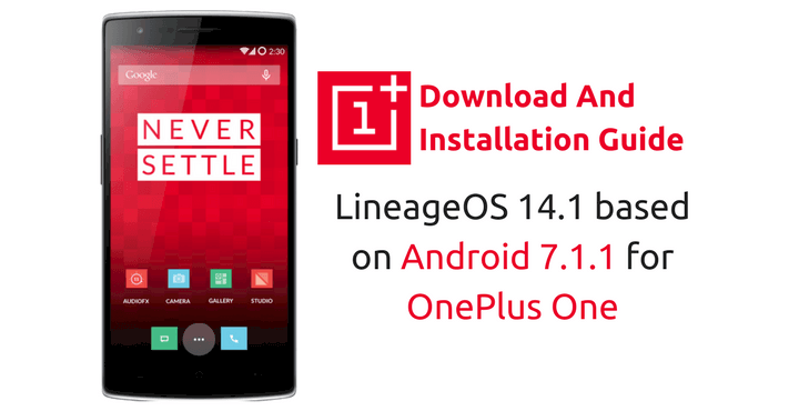 lineageos-14-1-oneplus-one