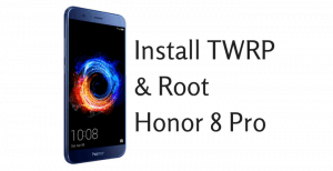 root-install-twrp-honor-8-pro