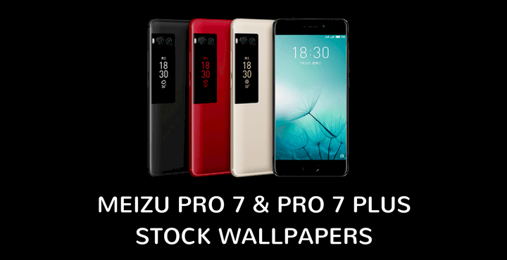 Download Meizu Pro 7 And Pro 7 Plus Stock Wallpapers