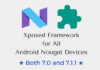 xposed-framework-for-android-nougat-7-0-and-7-1-1