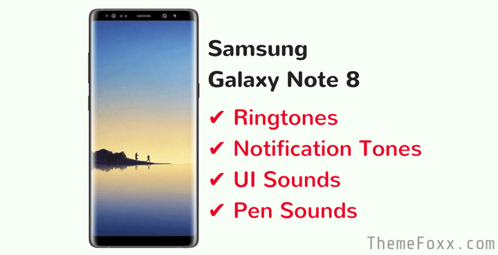 mi note 8 ringtone download