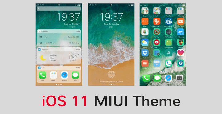 Download iOS 11 MIUI Theme for All MIUI Devices