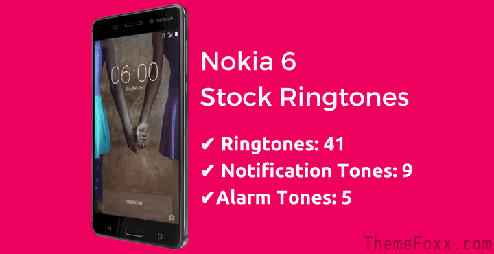 nokia-6-stock-ringtones