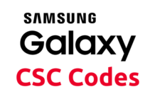 Samsung-Galaxy-CSC-Codes-List