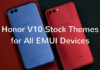 Honor-V10-Stock Themes