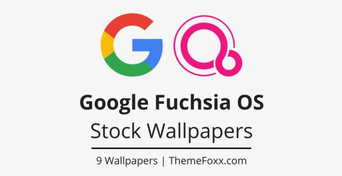 Download Google Fuchsia OS Stock Wallpapers