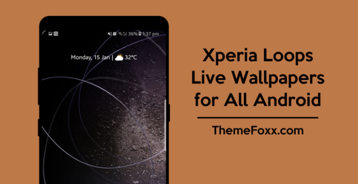 Xperia-Loops-Live-Wallpaper-APK