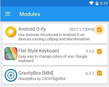 Xposed-for-Oreo-activate-modules