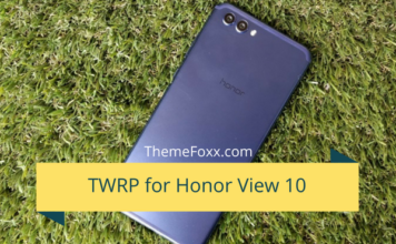 Honor-View-10-TWRP