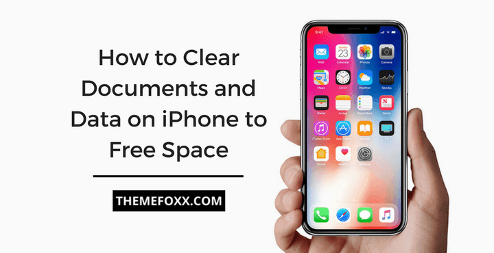 how to free up space on iphone 5 how to clear documents and data on iphone to free up space 8042