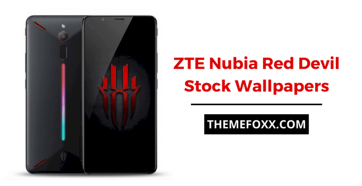 ZTE Nubia Red Devil Stock Wallpapers: Download ZTE Nubia Red Devil Stock Wallpapers
