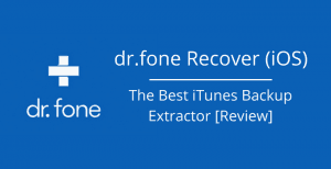 dr.fone Recover (iOS)