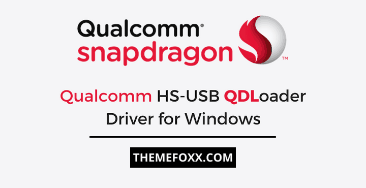 Download Android Qualcomm Drivers for Windows (64-bit and 32