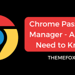 Chrome-Password-Manager