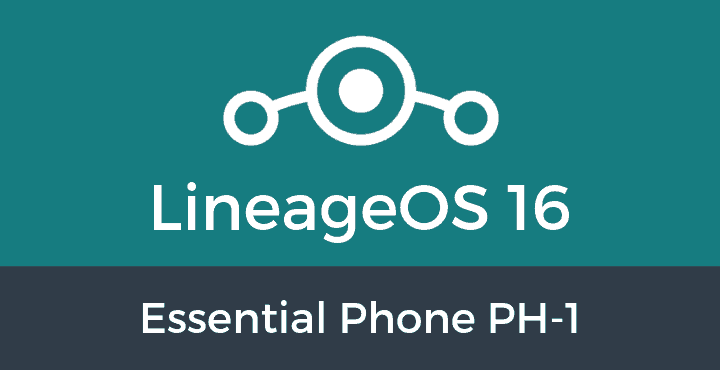 Lineage-OS-16-Essential Phone PH-1
