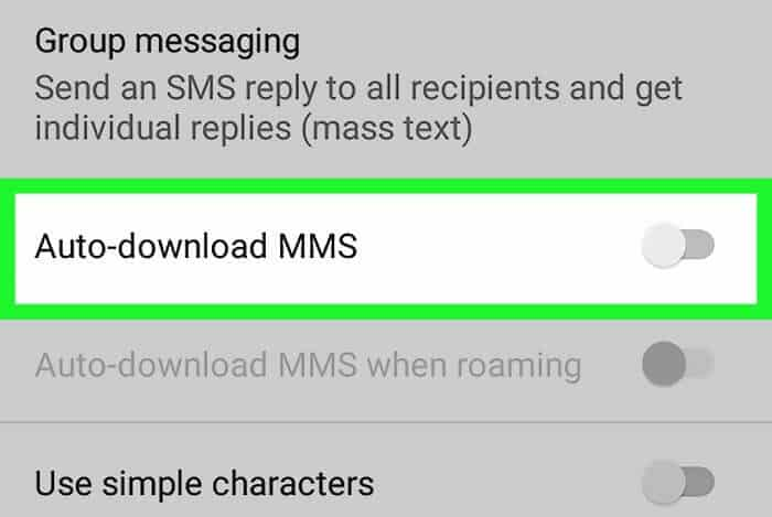 auto-download-mms
