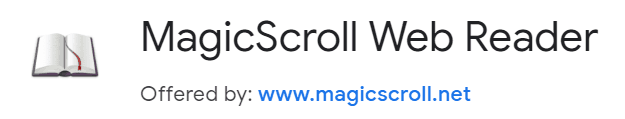 Best-Chrome-Extensions-For-Readers-MagicScroll-Web-Reader